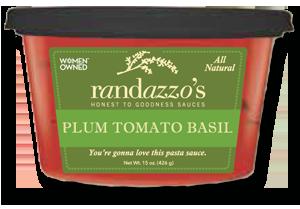 Plum Tomato Basil Pasta Sauce